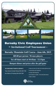 Cupe 23 Golf Poster-2015