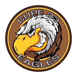 CUPE 23 Eagles logo
