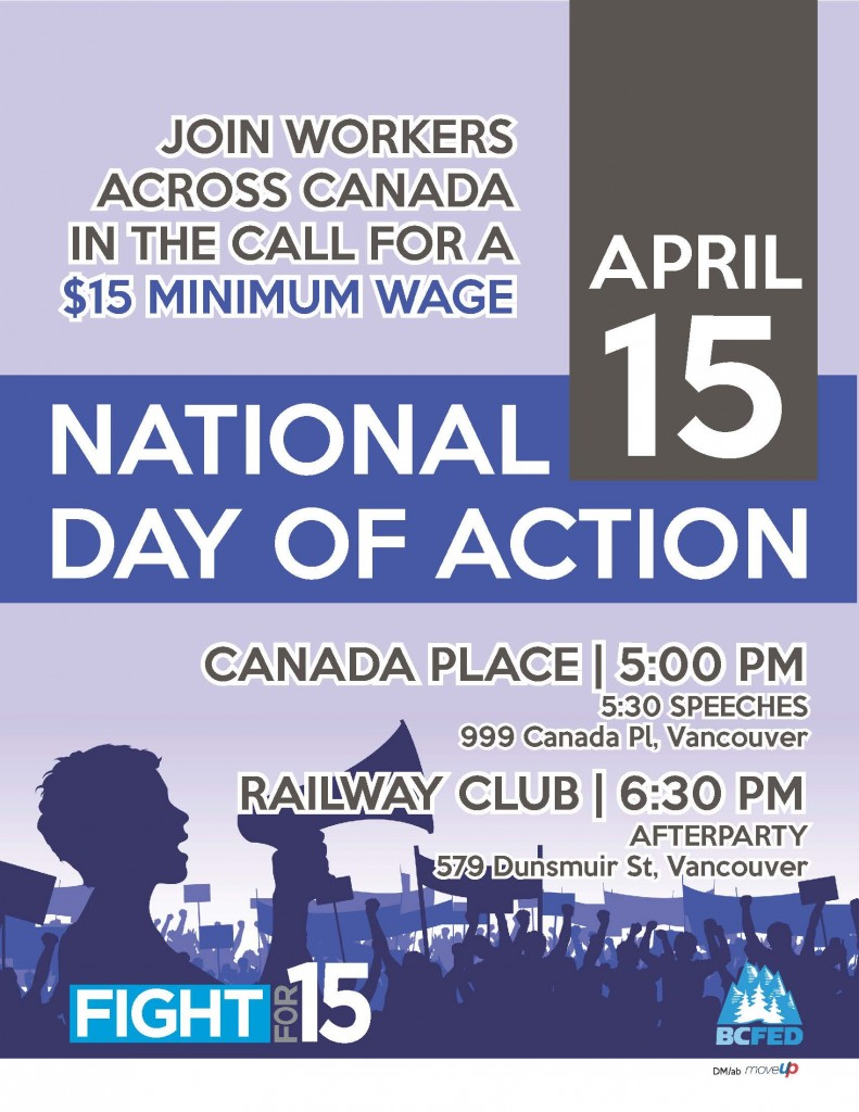 National Day of Action Poster